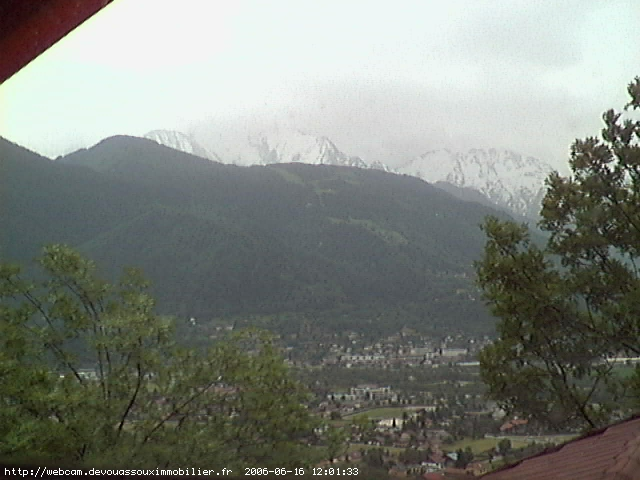 Webcam France : Le mont blanc